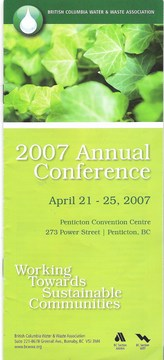 BCWWA conference theme (april 2007)