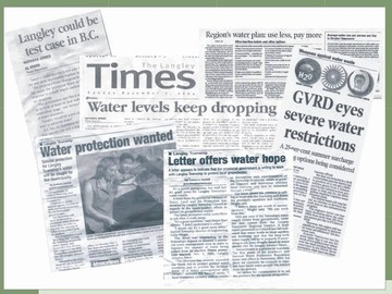 Langley16 - groundwater headlines