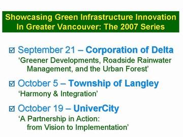 GIP8 - 2007 metro vancouver series