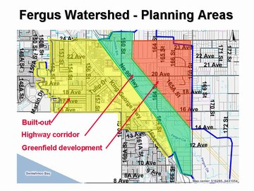 Showcasing innovation - fergus watershed - planning areas