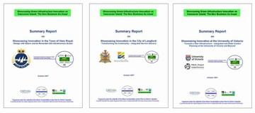 2008 capital region showcasing - summary reports