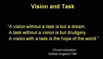 2008 capital region showcasing - vision & task