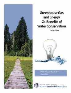 cover - polis report on water-energy nexus (300p)