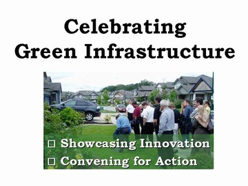 Celebrating green infrastructure program