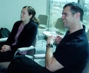 Laura maclean & richard boase (180pixels) at 2007 wbm partners forum