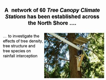 UBC tree canopy research project - 60 stations