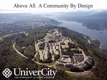 UniverCity - a community by design