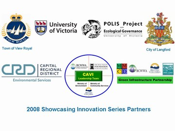 2008 showcasing innovation series - partner logos