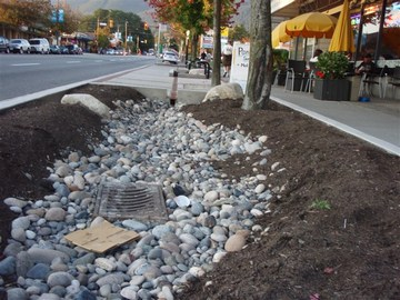 North van - lonsdale drainage feature1