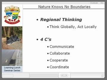Courtenay seminar #3 - regional thinking