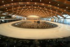 Richmond olympic oval - inside