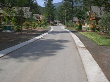 The cottages at cultus lake