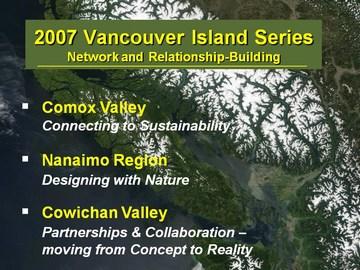 2007 vancouver island showcasing innovation series