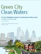 Philadelphia: green city, clean waters