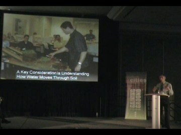 Ted van der gulik at 2009 resilient cities conference (360p)