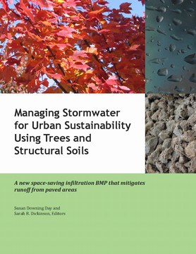 Stormwater management: using trees and structural soils - manual cover (360p)