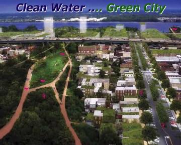 Philadelphia - clean water...green city