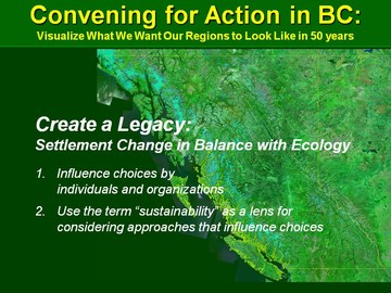 Creating a legacy in british columbia - march 2010 version