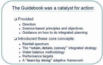 Stormwater guidebook - catalyst for action
