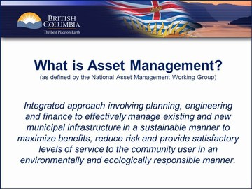 What is asset management