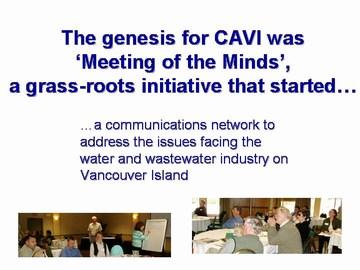 CAVI - meeting of the minds genesis, may 2007