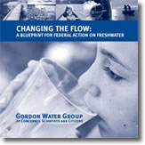Gordon water group - report cover