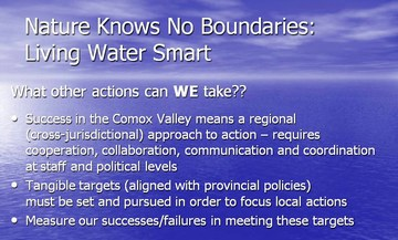 Nature knows no boundaries - living water smart  #2