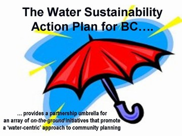 Water sustainability action plan is an umbrella (june 2006)