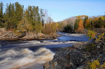 Canada water week - river scene