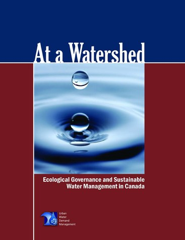 At a watershed - cover (475p)