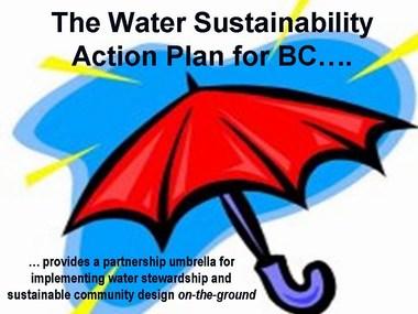 Water sustainability action plan - a partnership umbrella